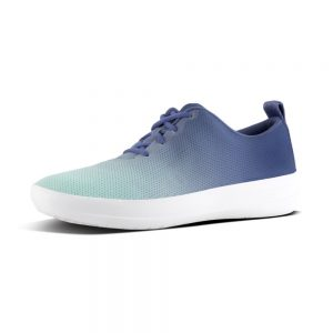 F-Sporty Mesh Sneakers Indian Blue/Turquoise Ombre