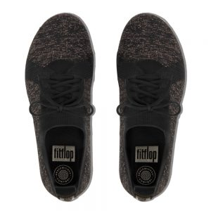 F-Sporty Uberknit Metalic Black/Bronze Sneakers