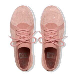 F-Sporty Uberknit Metalic Dusky Pink Metalic Sneaker