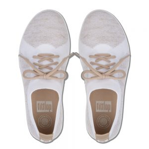 F-Sporty Uberknit Metalic Gold/Urban White Sneaker