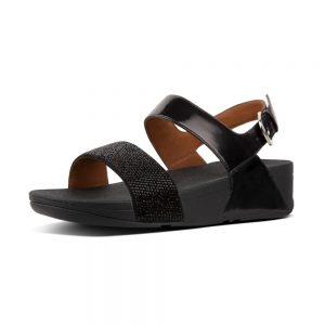 Ritzy Back-Strap Sandal Black