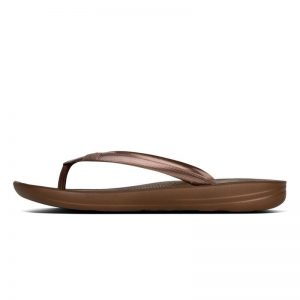 iQuishion Ergonomic Flip Flop Bronze