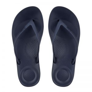 iQushion Ergonomic Flip Flop Men's Midnite Navy