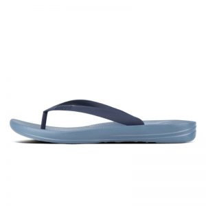 iQuishion Ergonomic Flip Flop Men's Sea Blue