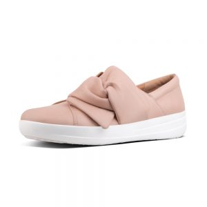 F Sporty Bowy Nude Leather shoe