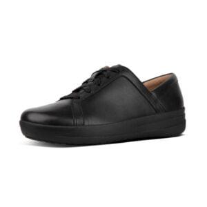 F Sporty II Leather Sneaker Black