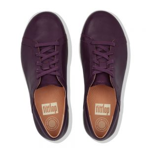 F Sporty II Leather Sneaker Berry