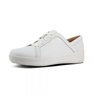 F Sporty II Leather Sneaker White