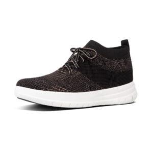 Uberknit Hitop Metallic Sneaker Black/Bronze