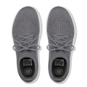 Uberknit Hitop Metallic Sneaker Charcoal/Pewter