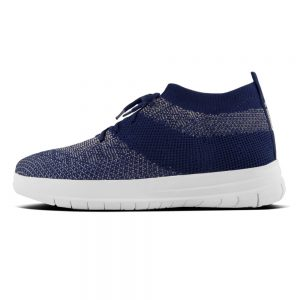 Uberknit Hitop Metallic Sneaker Midnight Navy/Pewter