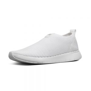 Airmesh slip on Sneaker Urban White