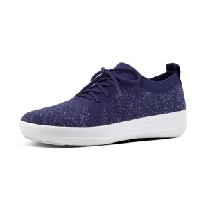 F-Sporty Uberknit Metalic Indian Blue Sneaker.