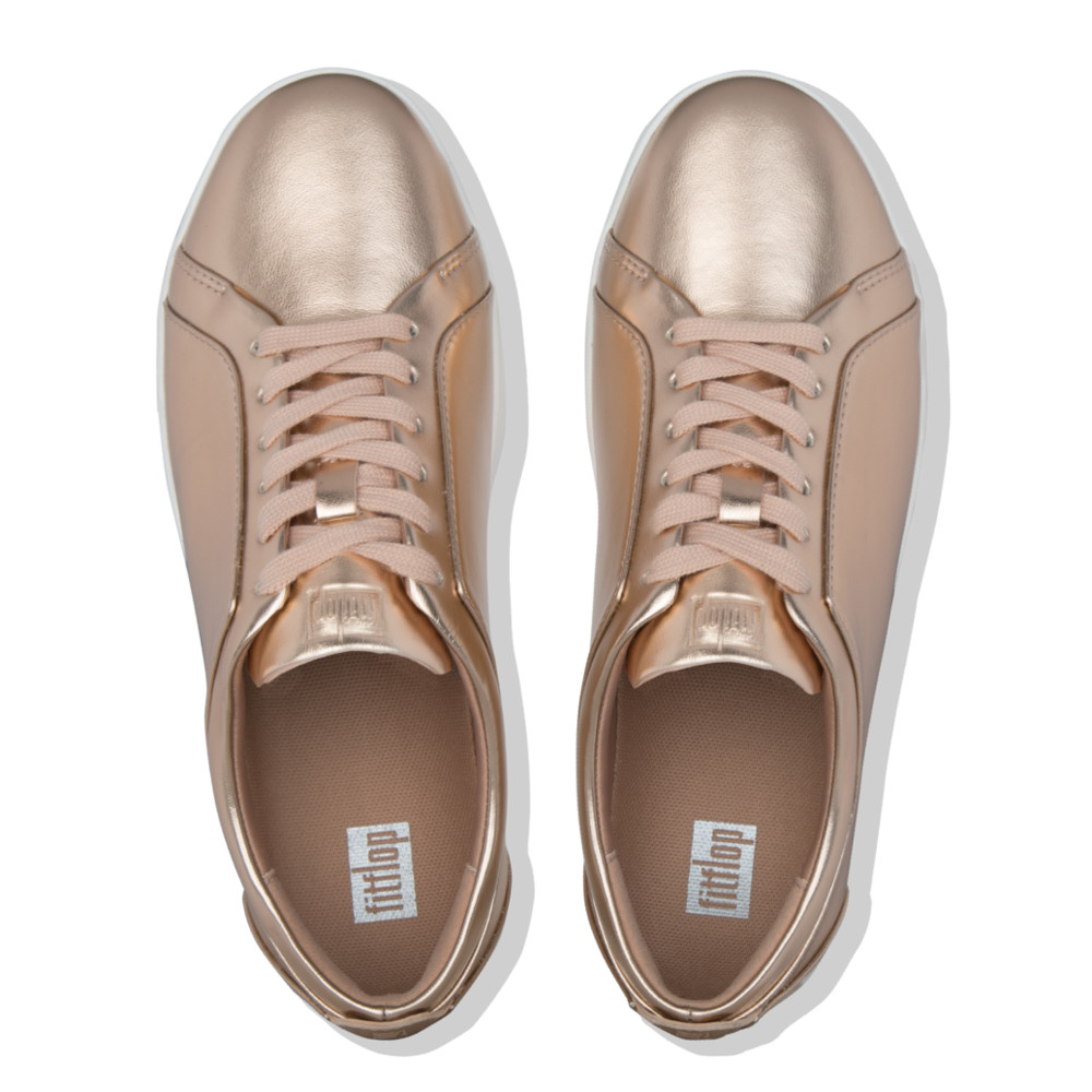 uk availability 38780 f43a7 Rally Sneaker in metallic Rose gold.