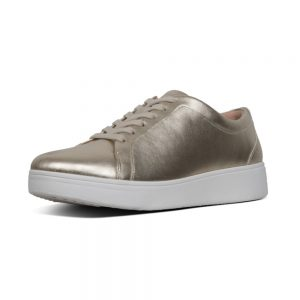 Rally Sneaker Platino/Gold