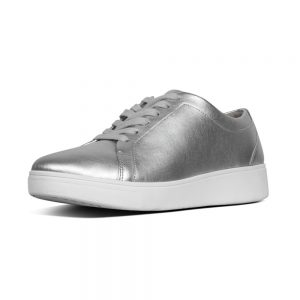 FitFlop Rally Sneaker Silver.
