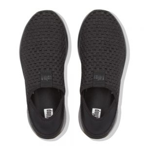 Stripknit Sneaker All Black