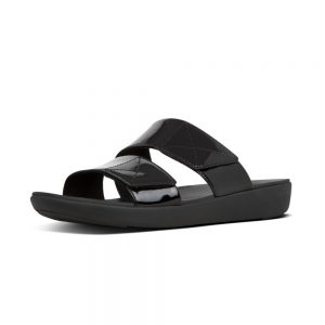 Carin Patent slides Black
