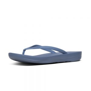 iQushion Ergonomic Flip Flop Blue