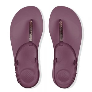 FitFlop iQushion Ergonomic SPLASH Sparkle Beetroot