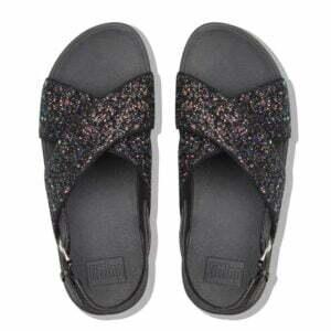 Lulu Glitter Sandal Black