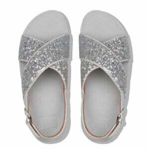 Lulu Glitter Sandal Silver