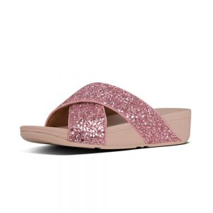 Lulu Glitter Slide Rose