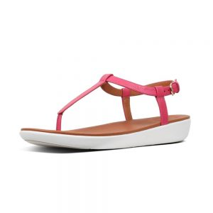 Tia Leather Psychedelic Pink