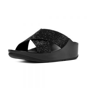 Crystall Metallic Black Slide