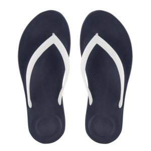 iQuishion Ergonomic Flip Flop Men's Midnight navy mix