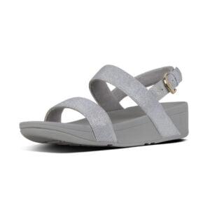 Lottie Glitzy Silver Sandal