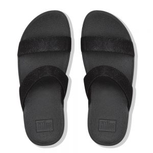 Lottie Glitzy Black Slide