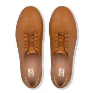 Adeola Leather Lace-up Derby Light Tan