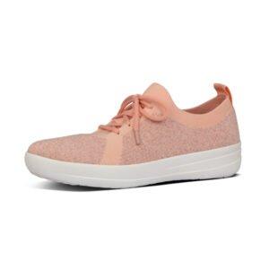 F-Sporty Uberknit Coral Pink Sneakers