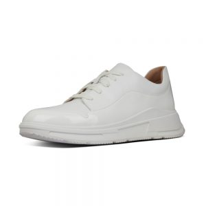 Freya White Leather Sneaker