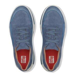 Freya Suede Blue Suede Sneaker