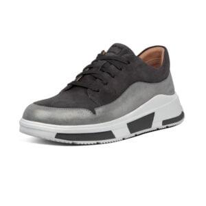 Freya Grey Suede Sneaker
