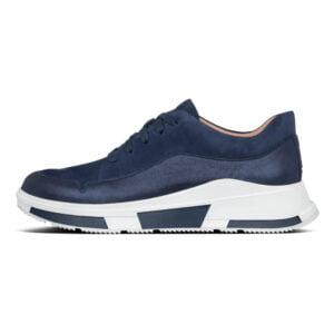 FitFlop Freya Suede Sneaker Midnight Navy