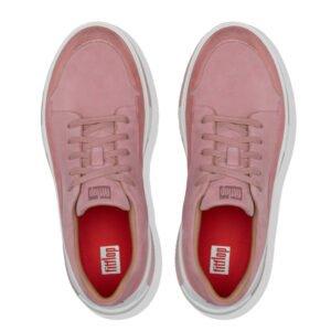 Freya Soft Pink Suede Sneaker