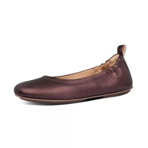 Allegro Ballerinas Chocolate Metallic