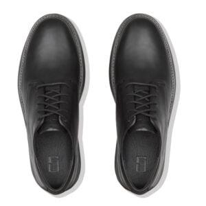 Henri Leather Lace Up Black