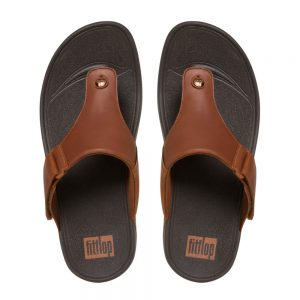 Trakk II Dark Tan leather