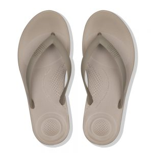 FitFlop iQushion Ergonomic Flip Flop Timberwolf