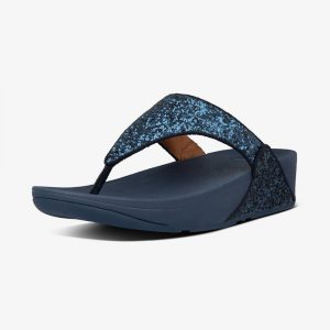 FitFlop Lulu Glitter Midnight Navy