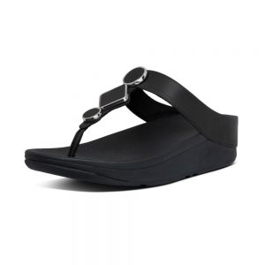 FitFlop LEIA LEATHER BLACK