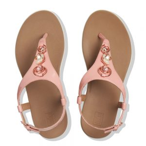 Lainey Leather Rose Tan
