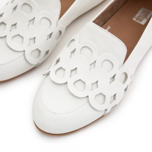 Lena Entwined Loops Brilliant White