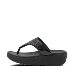 FitFlop Myla Glitz All Black sandal