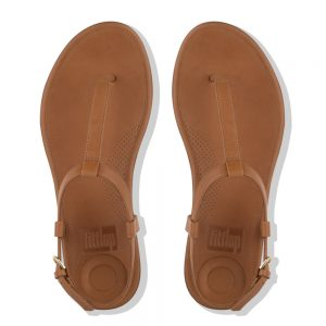 FitFlop Tia Leather Caramel