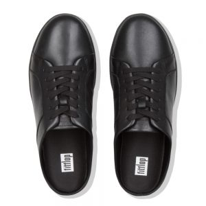 CELEST MULE ALL BLACK LEATHER